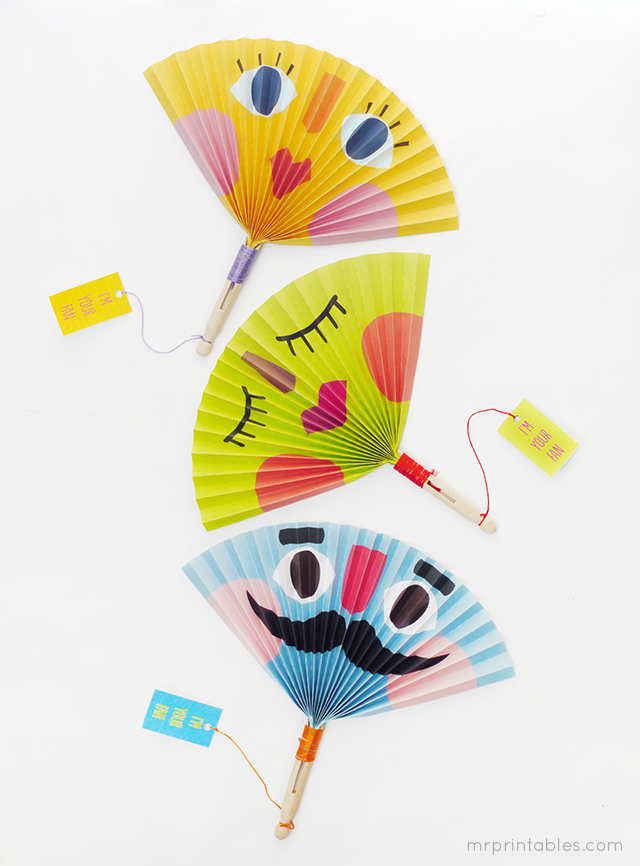 DIY Paper Fans Pictures, Photos, and Images for Facebook
