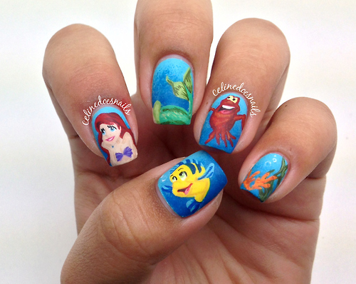 The Little Mermaid Nails Pictures, Photos, and Images for ...
