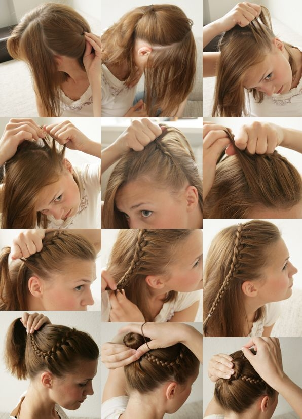 DIY Headband Updo Pictures Photos And Images For Facebook - Hairstyle diy tumblr