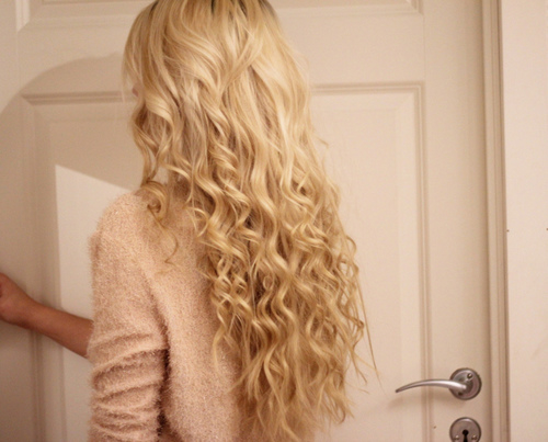 Wavy Blonde Hair Pictures Photos And