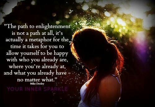 what is the path to enlightenment