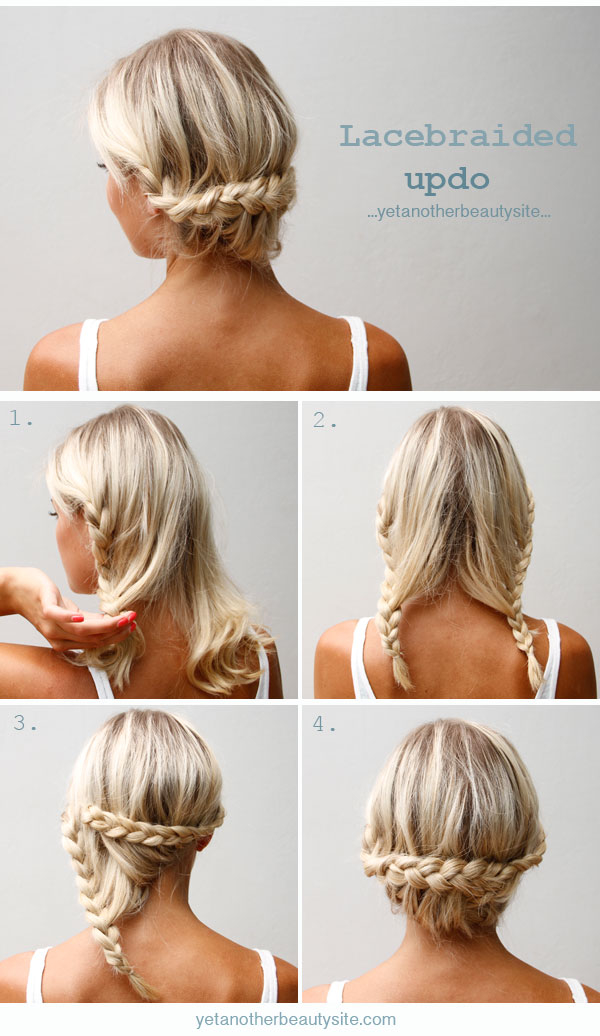 DIY Lace Braided Updo Pictures Photos And Images For Facebook - Hairstyle diy tumblr