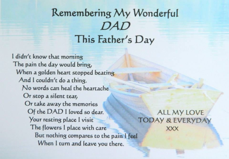 Remembering My Dad On Fathers Day