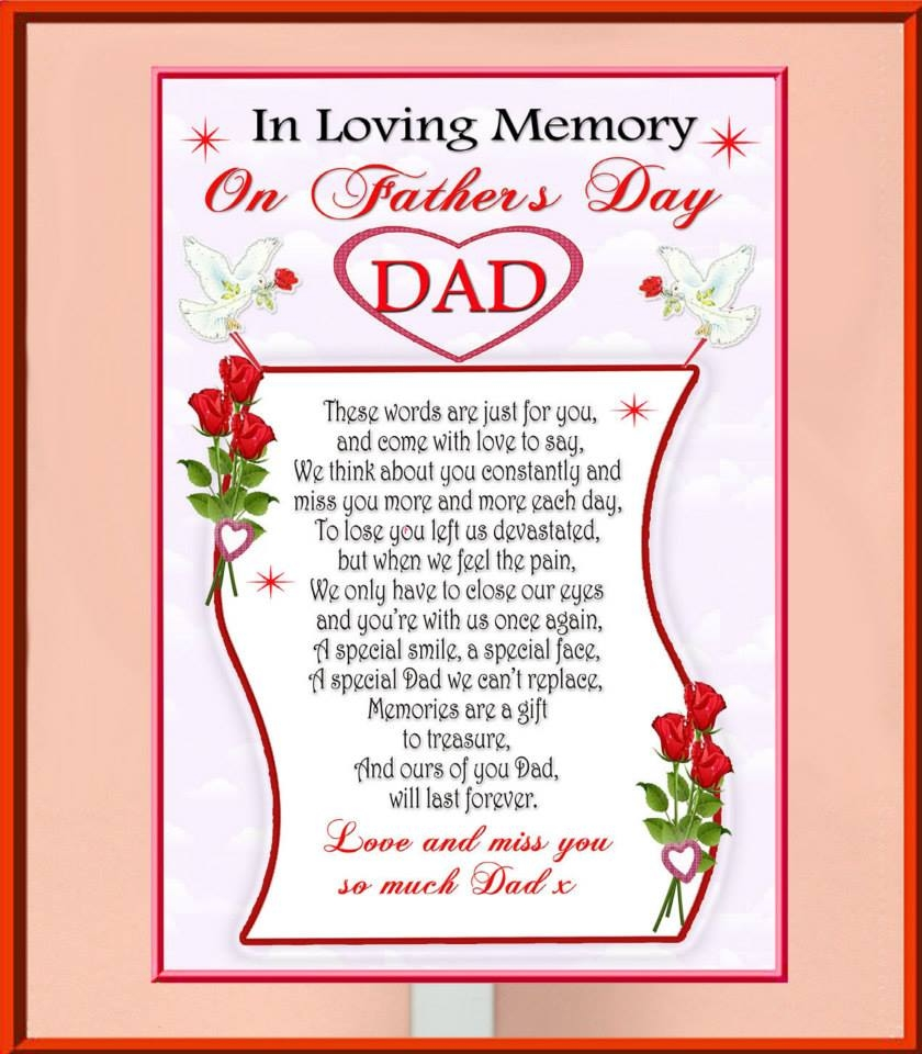 In Memory Dad Parent Daddy: In Loving Memory On Fathers Day Pictures, Photos, And
