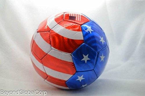 Usa Flag Soccer Ball Summer High Quality Outdoor Soccer
