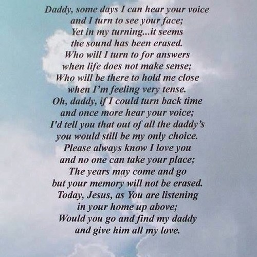 a letter to my dad in heaven in heaven pictures photos and images for 28771 | 100615 Dad In Heaven