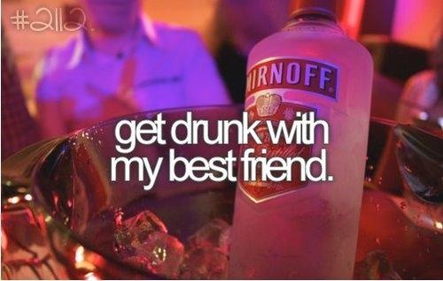 best friends Drunk