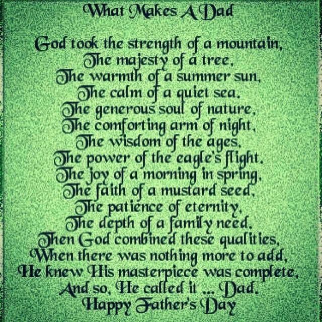 What makes a dad pictures photos and images for facebook for What makes a good father quotes