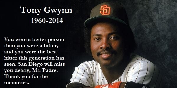 151e80199 Rip Tony Gwynn Pictures, Photos, and Images for Facebook, Tumblr ...