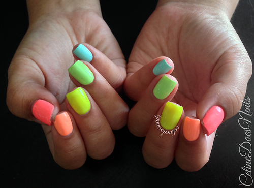 Neon Colored Nails Pictures, Photos, and Images for Facebook, Tumblr ...