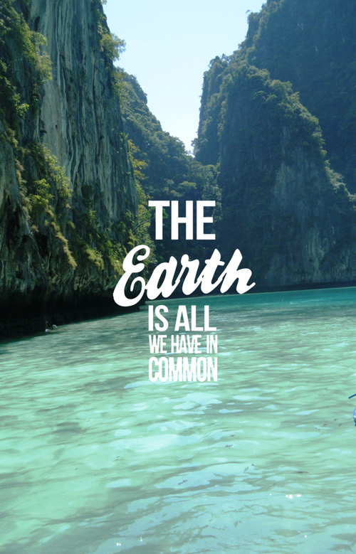 the earth is all we have in common pictures photos and