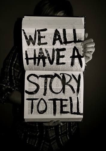 Image result for we all have story to tell
