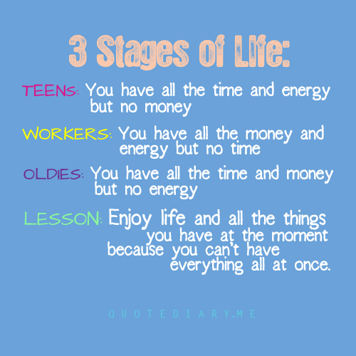 stages of life Life stages steven mintz john and rebecca moores professor of history, director, american cultures program, university of houston in.
