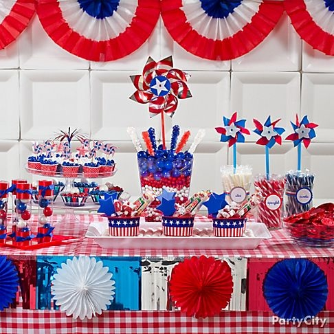 Festive july 4th party decor pictures photos and images for 4th of july celebration ideas
