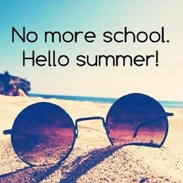 No More School Hello Summer