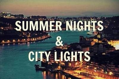 Summer Nights And City Lights Pictures Photos And Images For