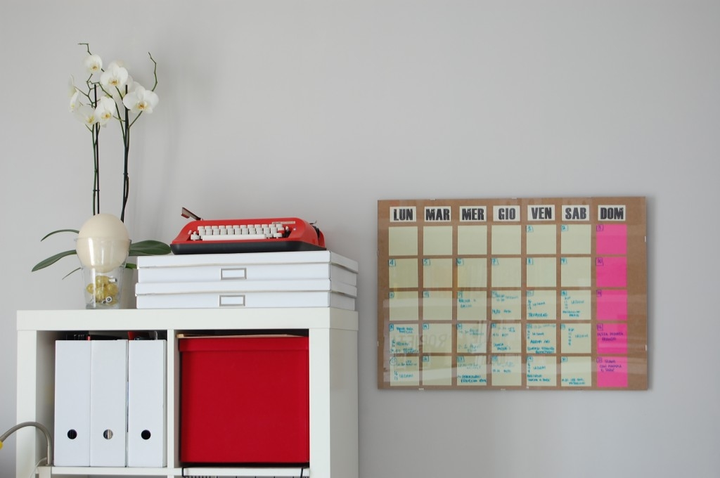 Diy Weekly Calendar : Diy dry erase board monthly planner pictures photos and