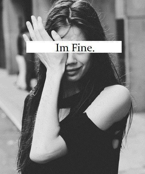 I'm fine. by WolvesRock15 on DeviantArt