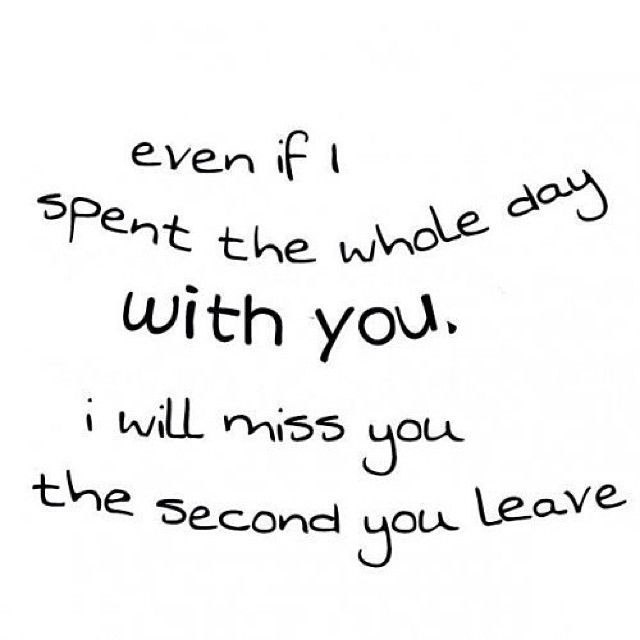 Will Be Missing You Quotes: I Want To Spend Every Minute With You Pictures, Photos