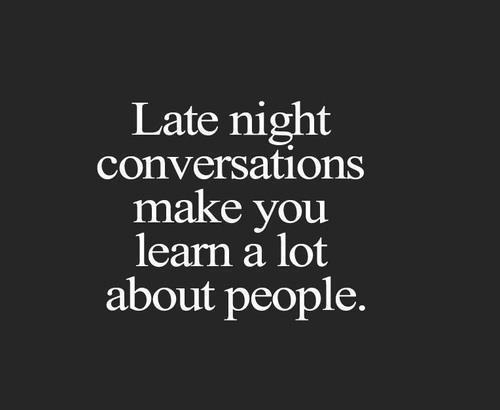 Late Night Conversations Pictures Photos And Images For Facebook