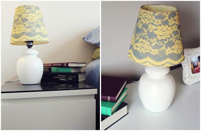 Diy lace lamp shade pictures photos and images for - Como hacer una lampara de techo ...