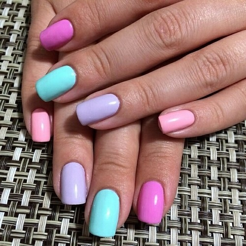 Pastel Nail Colors Pictures Photos And Images For Facebook Tumblr Pinterest And Twitter
