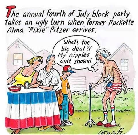 The Annual Fourth Of July Block Party Takes An Ugly Turn Pictures