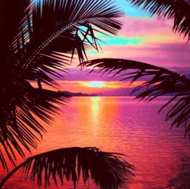 Amazing Tropical Sunset