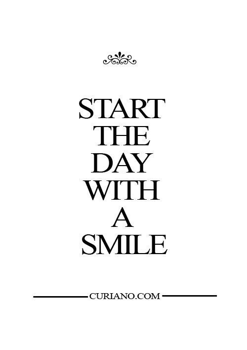Start The Day With A Smile Pictures Photos And Images For Facebook