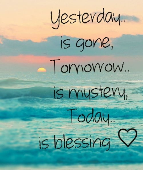 Short Good Morning Quotes For Friends: Today Is A Blessing Pictures, Photos, And Images For