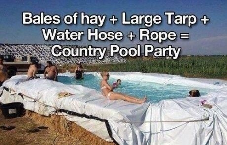 Country Pool Party