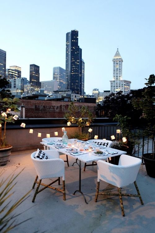 Rooftop date night pictures photos and images for - Set de table new york ...