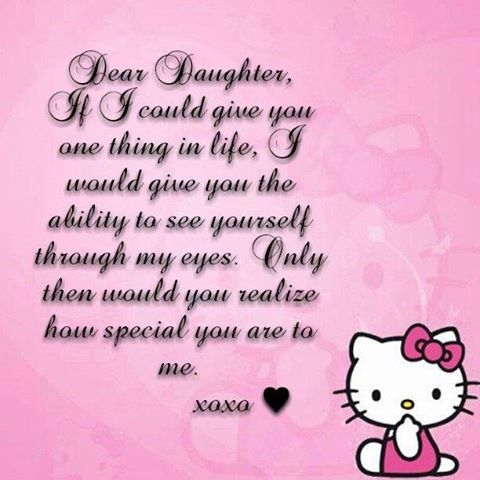 I Love My Daughter Funny Quotes : Dear Daughter Pictures, Photos, and Images for Facebook, Tumblr ...