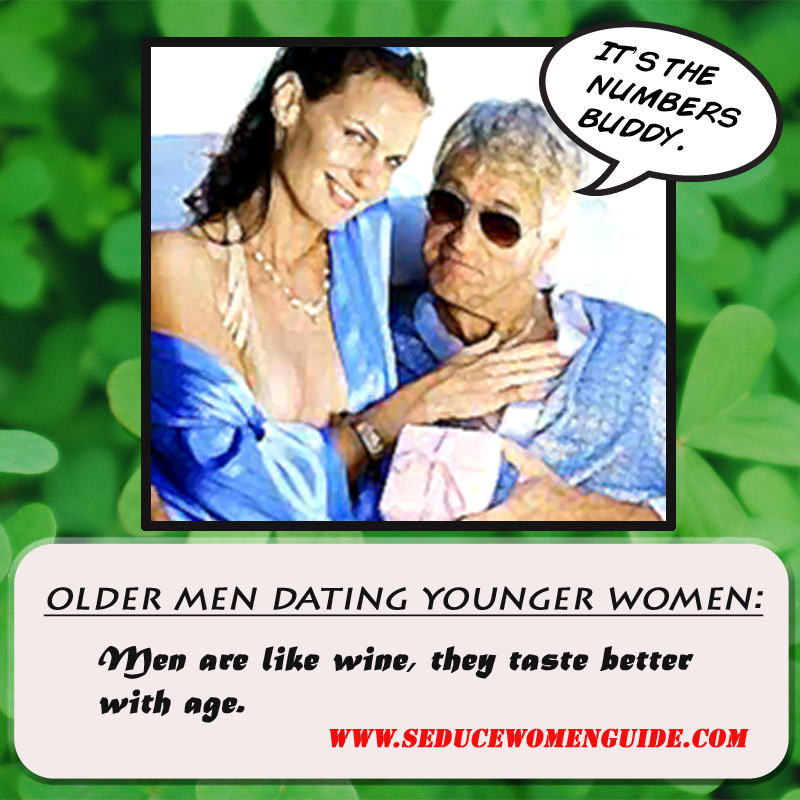 Advantages and disadvantages of dating a younger man