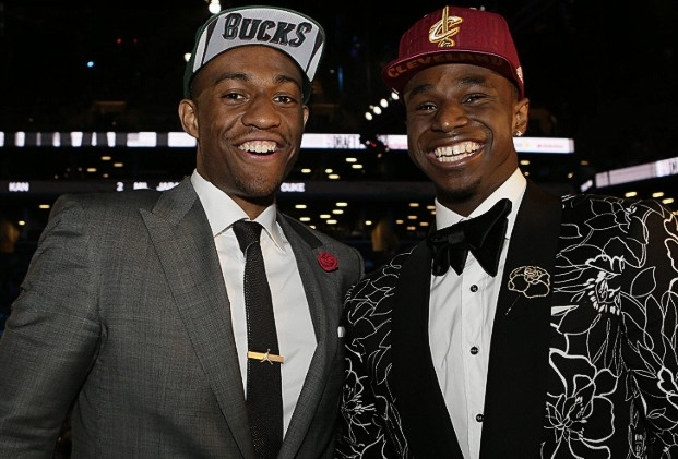 Photo of Andrew Wiggins & his friend  Jabari Parker -