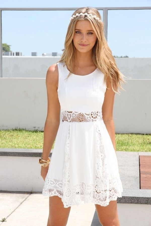 Cute White Summer Dress Pictures, Photos, and Images for Facebook ...