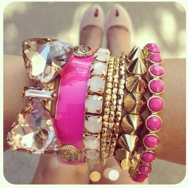 Pink Gold Bracelets Pictures Photos And Images For