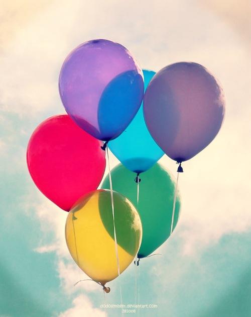 Výsledek obrázku pro balloons tumblr