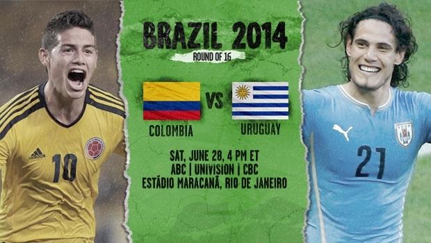 Colombia Vs Uruguay: Colombia Vs Uruguay Colombia Advances Pictures, Photos