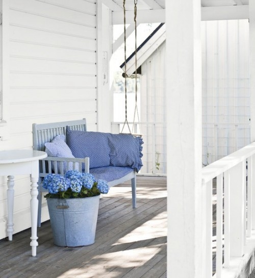 Simple Shabby Chic Front Porch Pictures