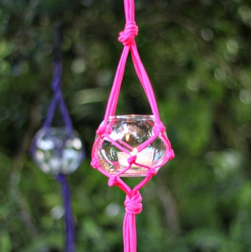 Hanging Outdoor Tealight Holders