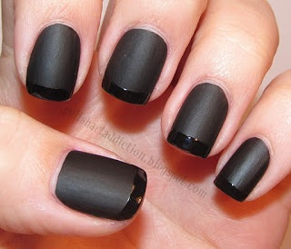 Matte Black Nails Pictures, Photos, and Images for ...