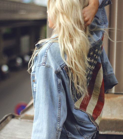 American Flag Denim Jacket - American Flag Denim Jacket Pictures, Photos, And Images For