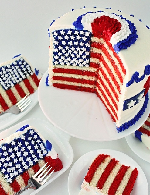 Fourth Of July Cake Recipe — Dishmaps