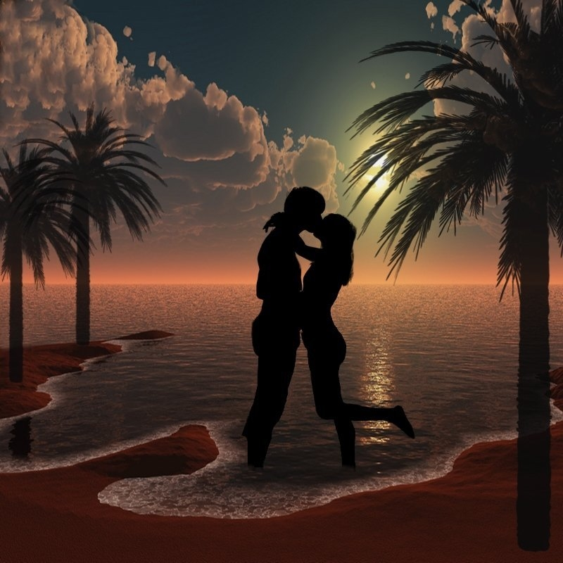 Summer Love Silhouettes Pictures, Photos, And Images For