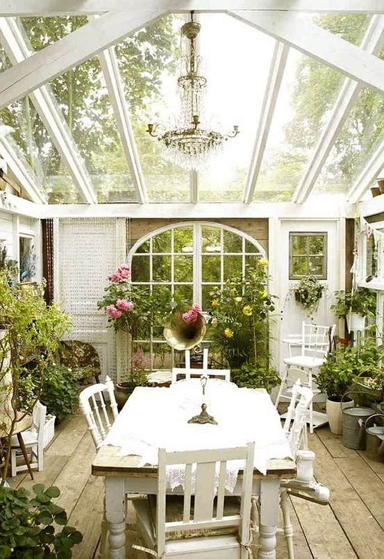 Cottage style sunroom pictures photos and images for facebook tumblr pinterest and twitter Cottage home decor pinterest