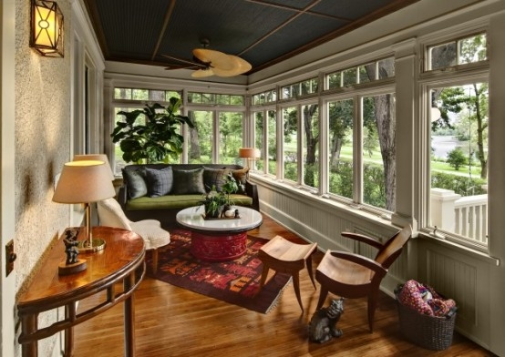 Sunroom Window Treatments Diy