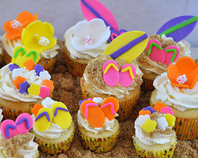Cute Tropical Summer Cupcakes Pictures Photos And Images