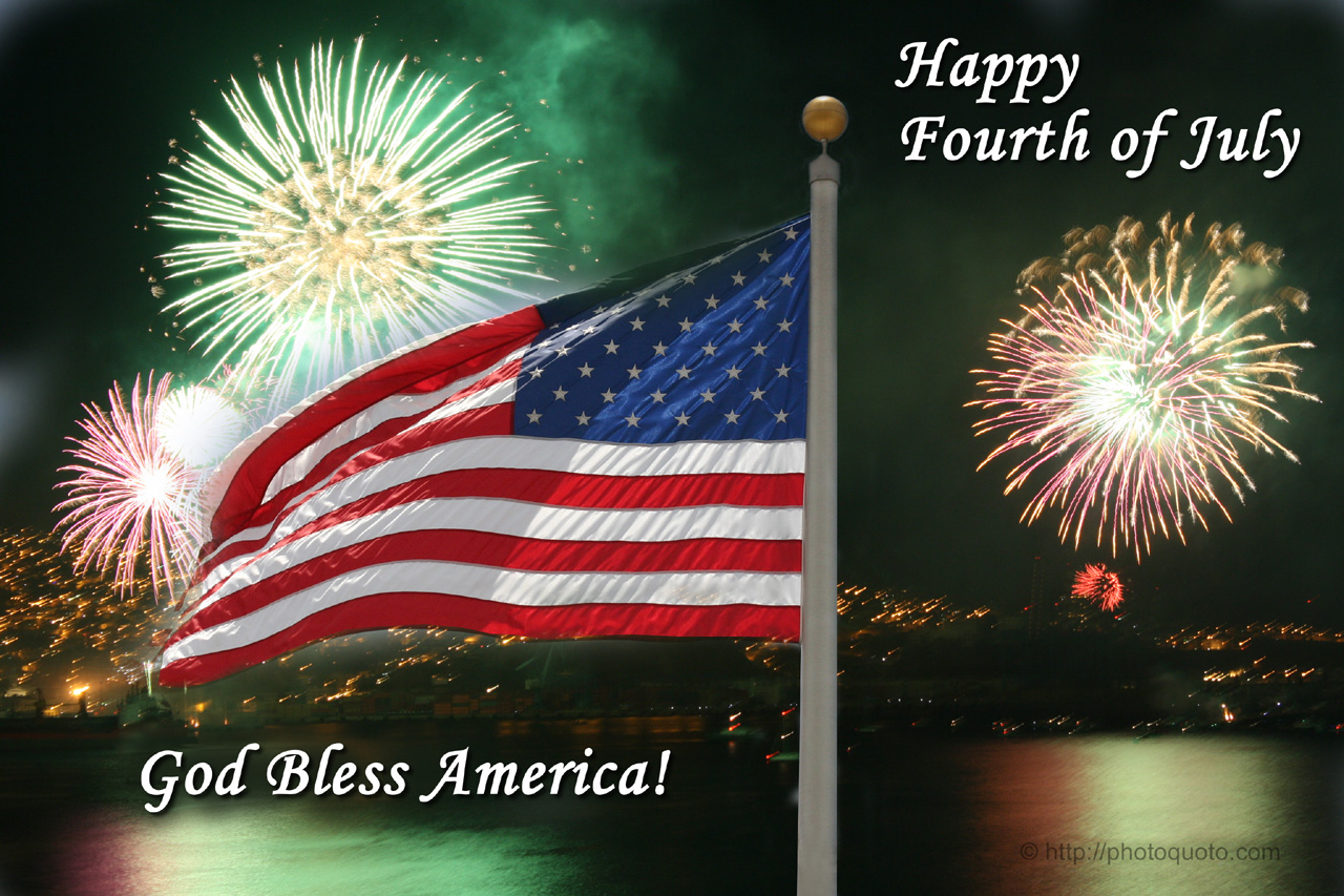 Happy Fourth Of July, God Bless America Pictures, Photos ...