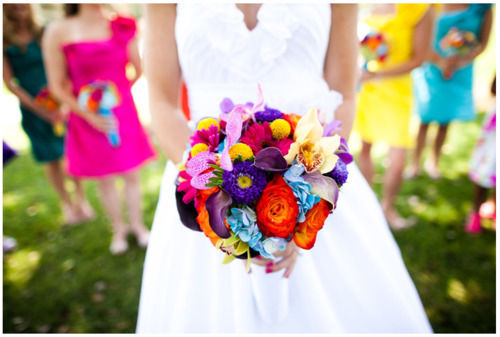Colorful Wedding Bouquet Pictures Photos And Images For
